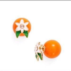 🍊Kate Spade Orange Blossom Earrings